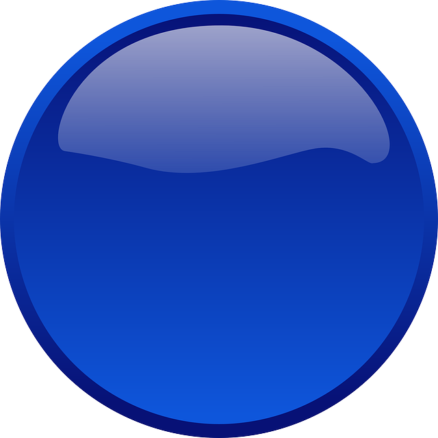 Blue Circle Icon image #13464