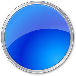 Blue Circle Icon image #16075