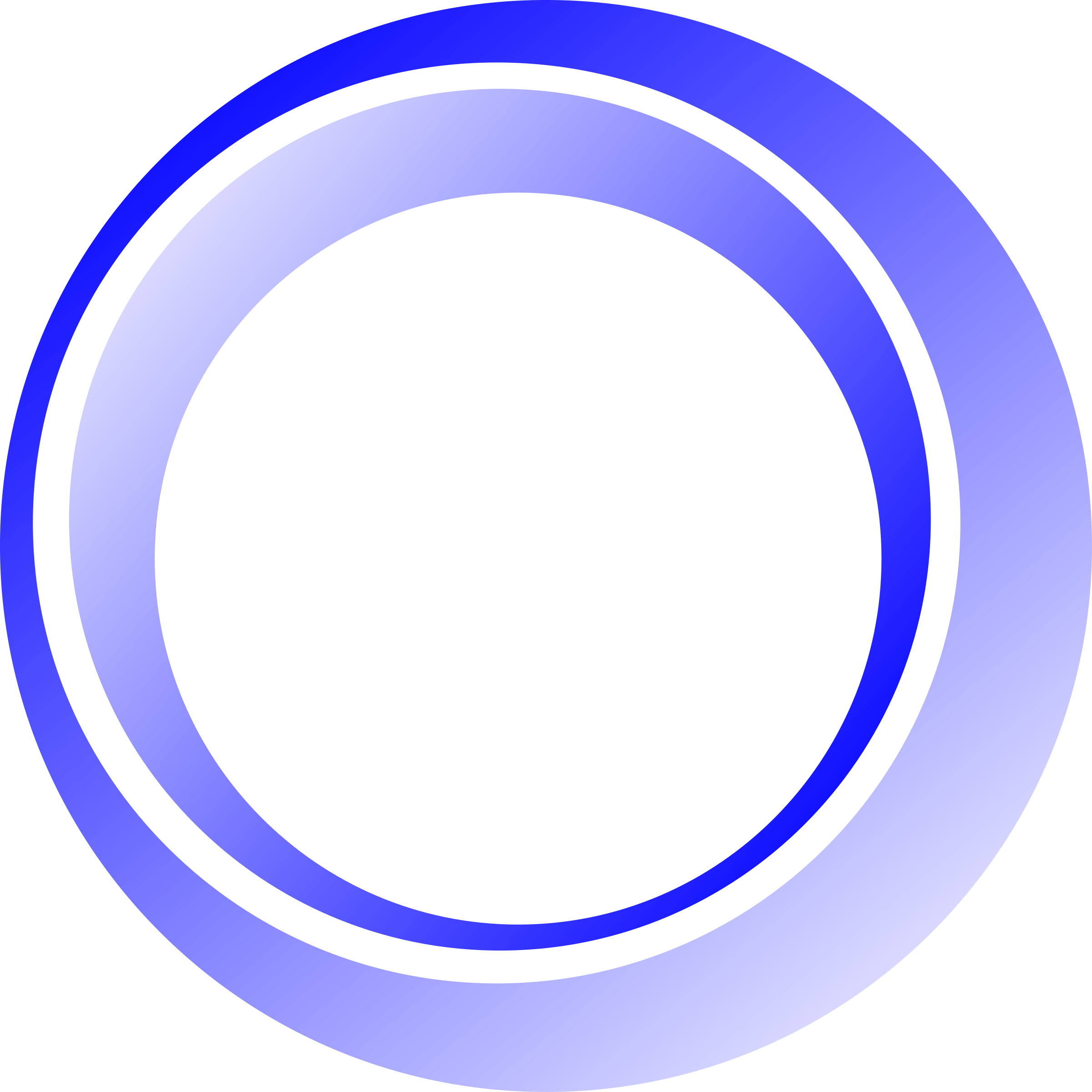 3D Blue Circle Png