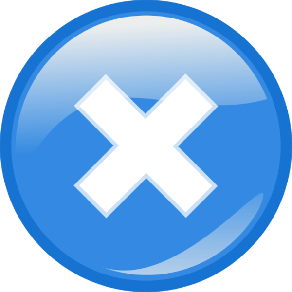blue close button png