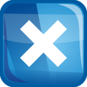 Blue Closed Icon image #13580