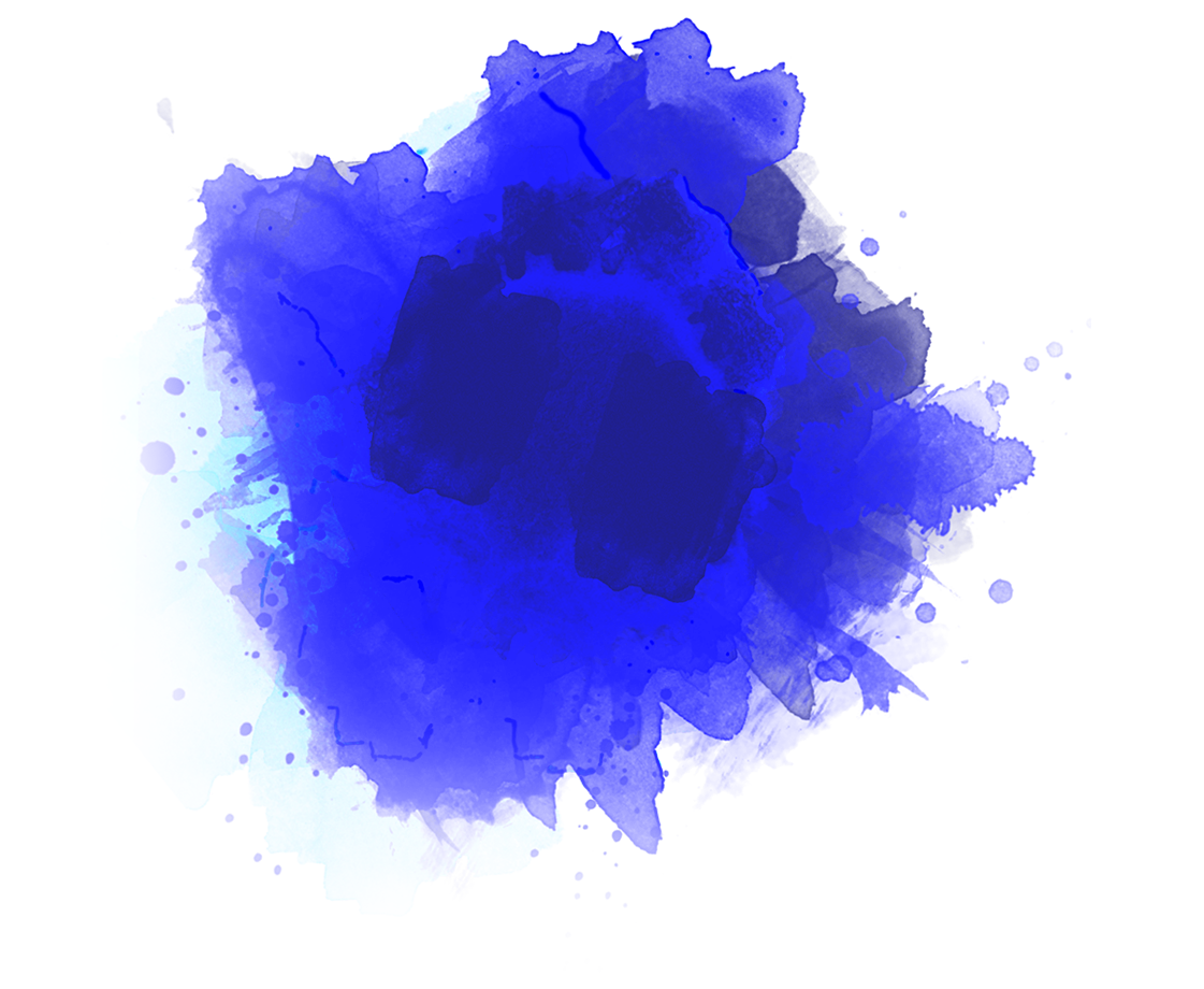 Blue Colored Smoke Png image #43285