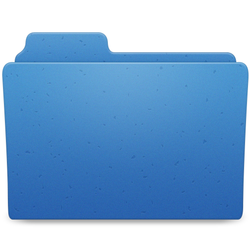 Blue Directory Icon Png image #12382