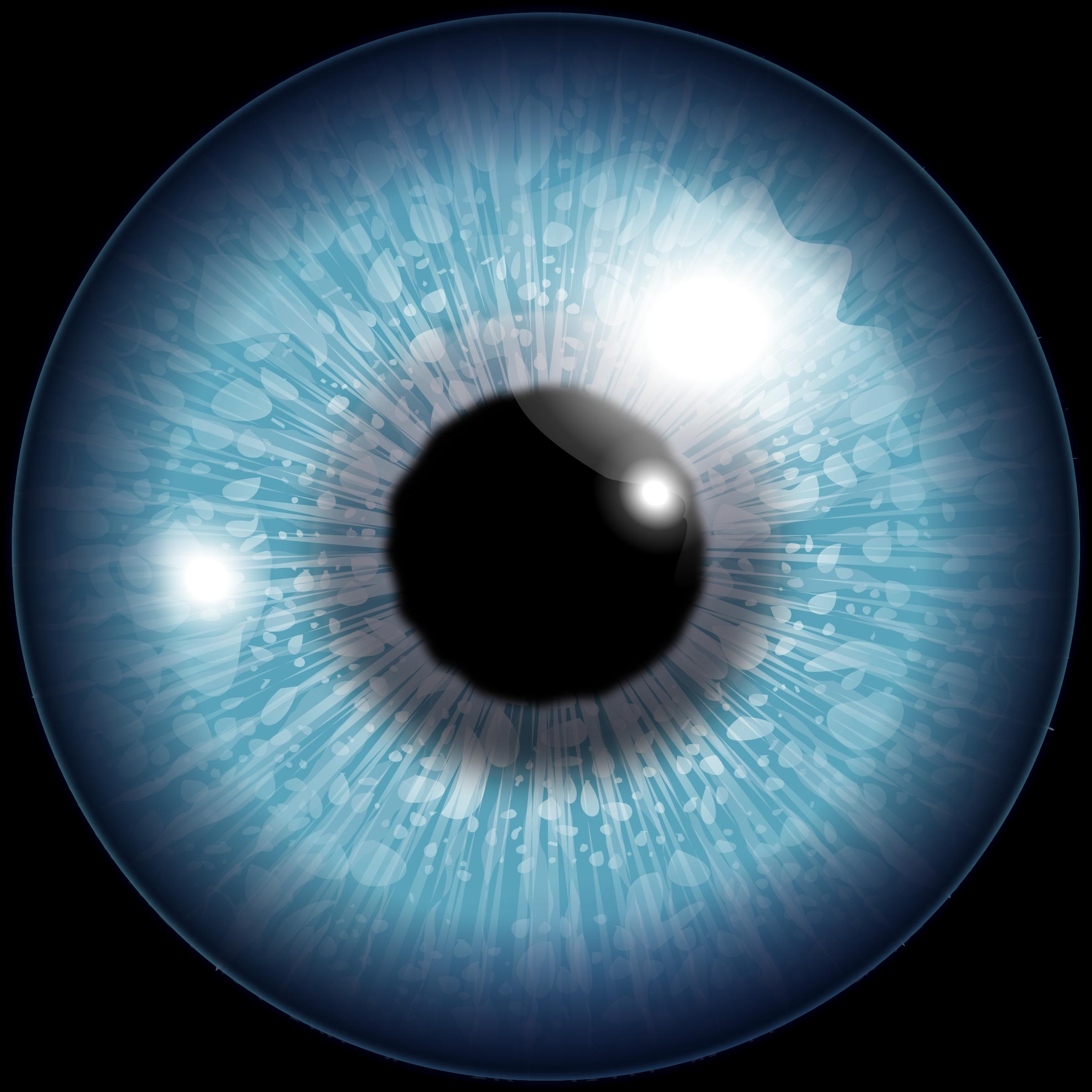 Blue Eye Drawing Png image #42302