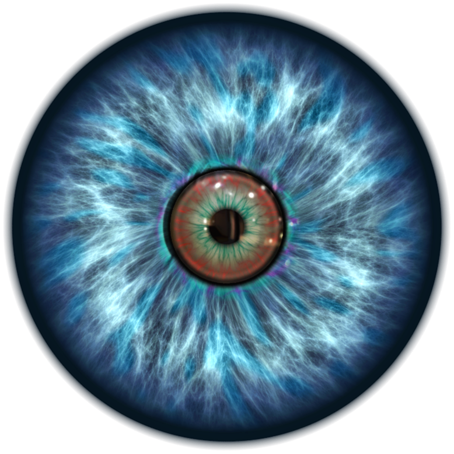 Blue Eye PNG Transparent Image image #42307