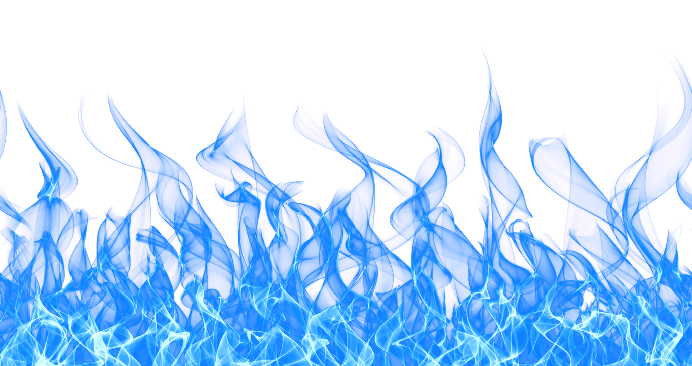 Blue Fire Flame PNG image #43392