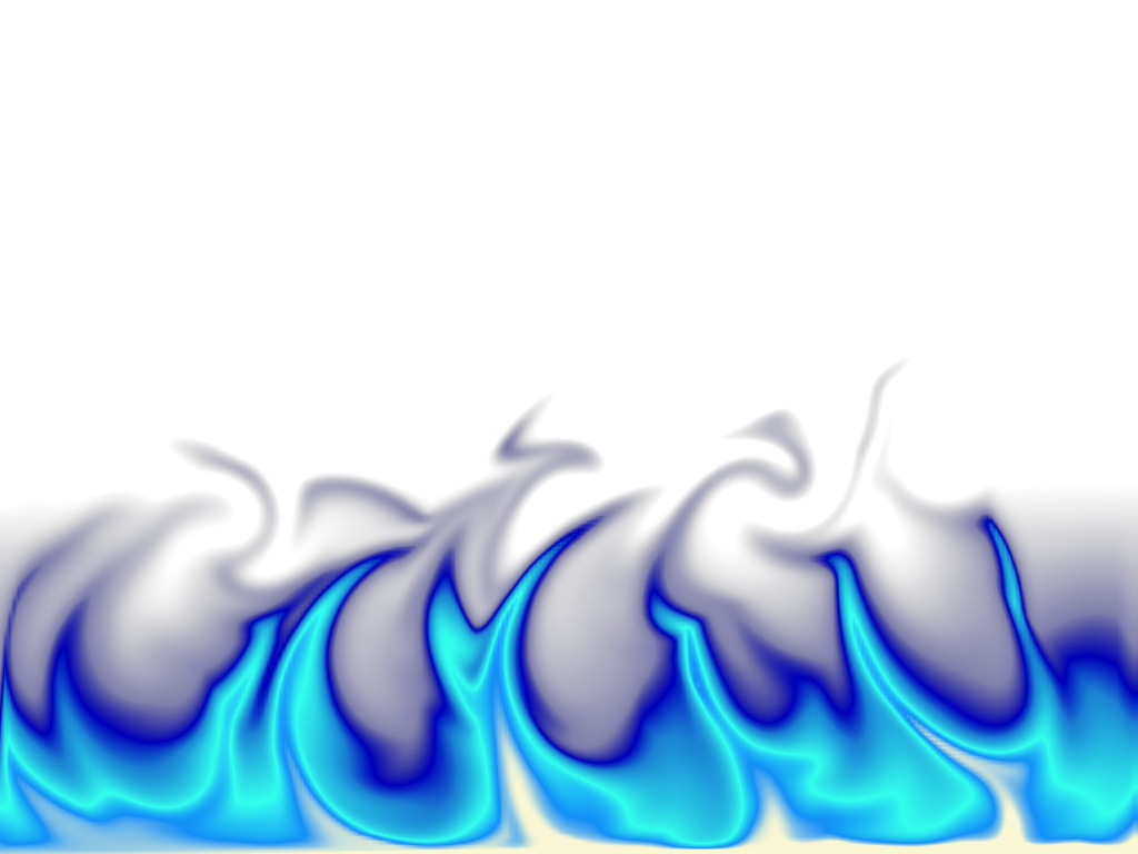 Blue Fire Graphic