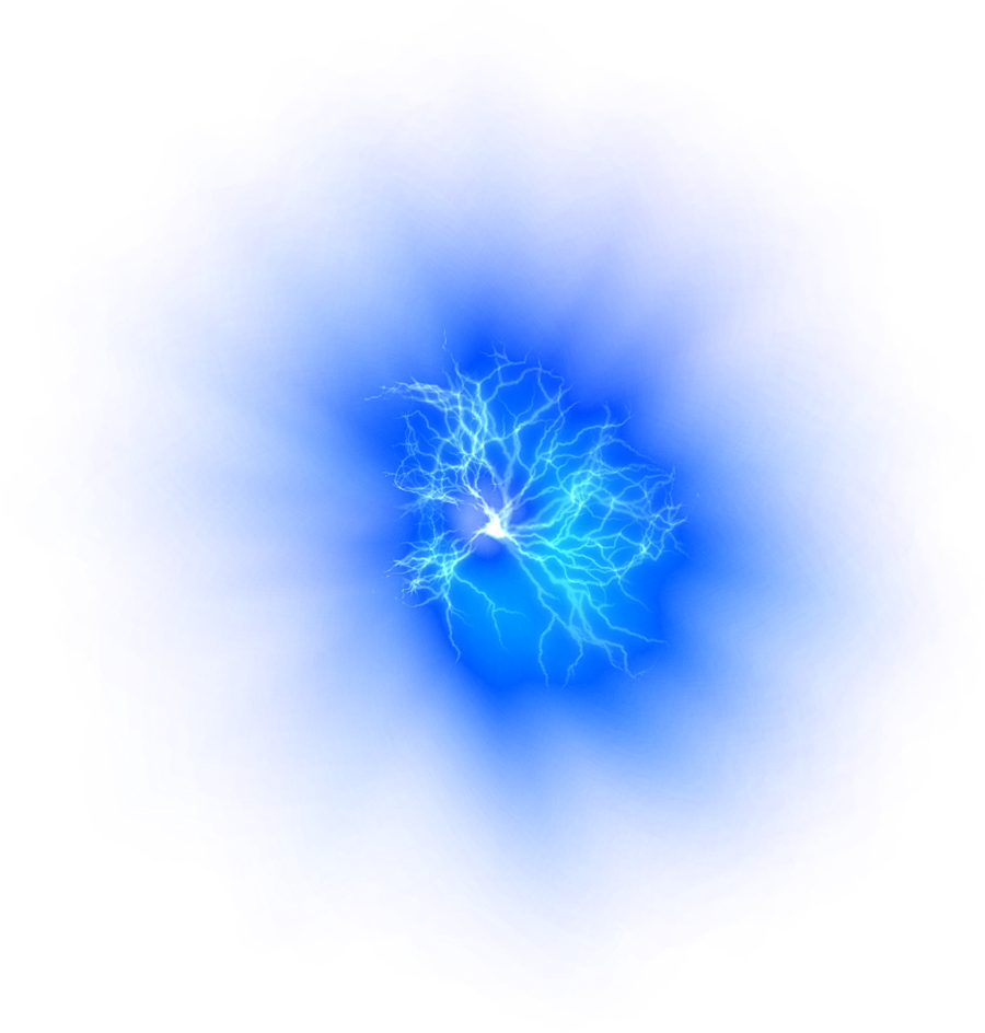 Blue Fire PNG Photo image #43403