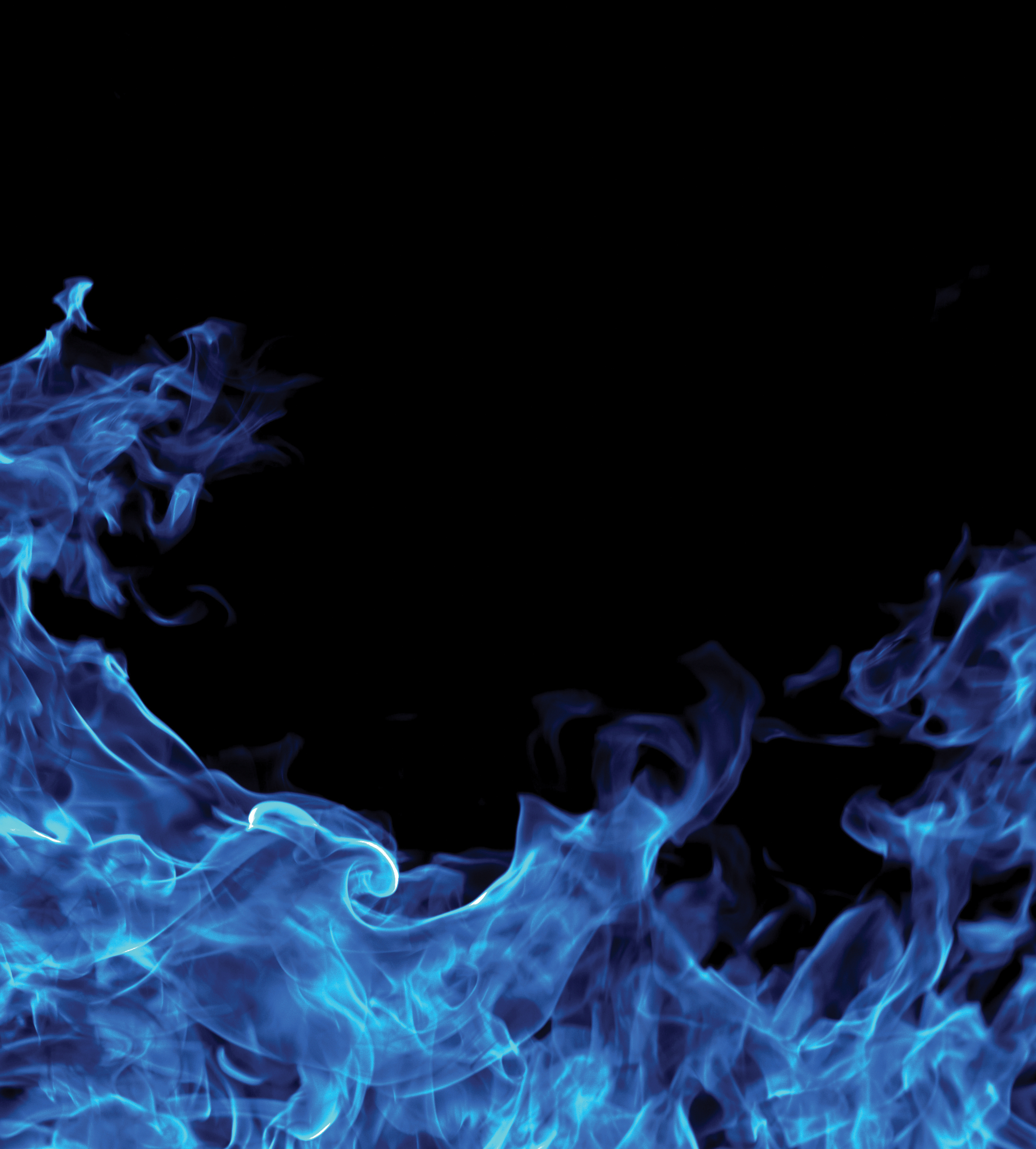 Blue Flames Background image #34518