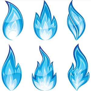 Designs Png Blue Flames image #34531