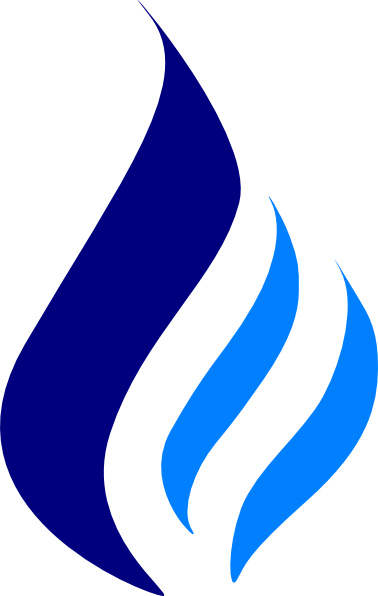 High Resolution Blue Flames Png Clipart