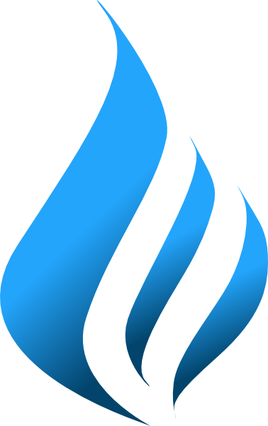 Blue Flames Png Clipart image #34513