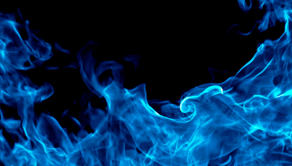 High Resolution Blue Flames Png Icon image #34506