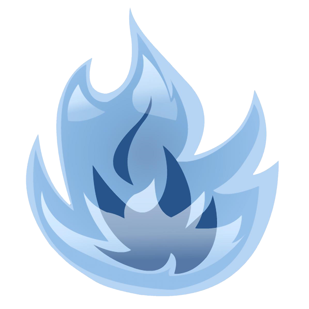 blue flames png transparent clipart
