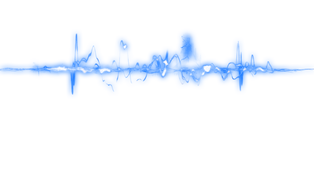 Blue Glow Line png