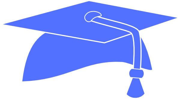 Blue Graduation Cap Pic