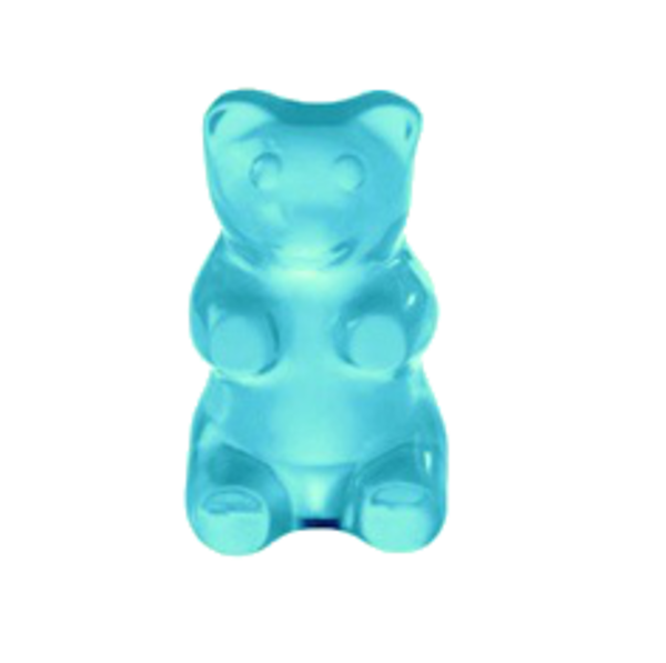 blue gummy bear png