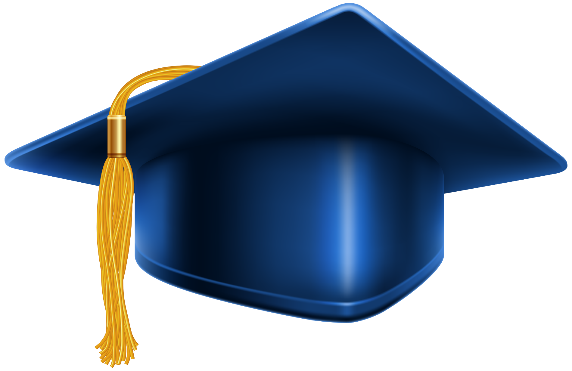 Blue HD Graduation Cap #45641 - Free Icons And PNG Backgrounds