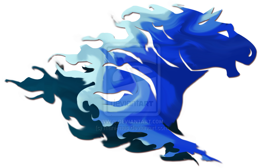 Blue Horse Fire Png