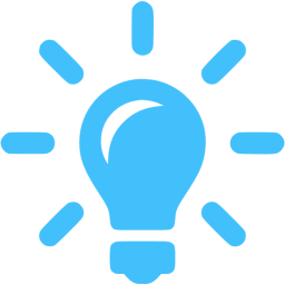 Blue Idea Icon Png Transparent Background Free Download Freeiconspng