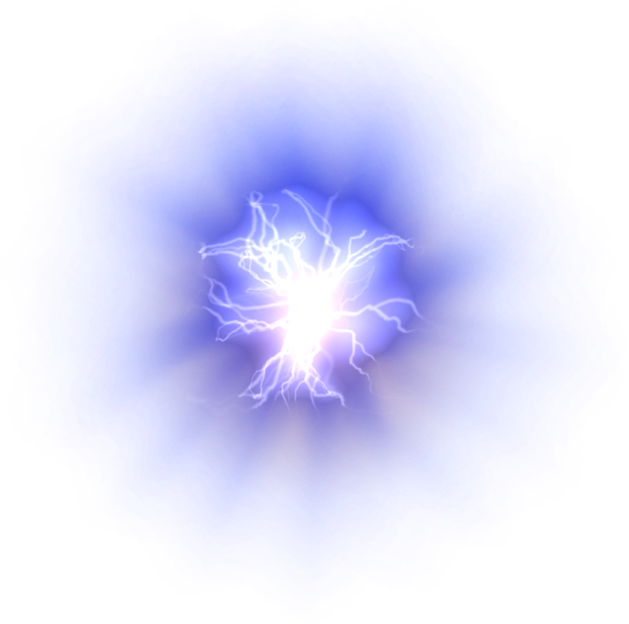 Blue Lightning, Misc electrical element png