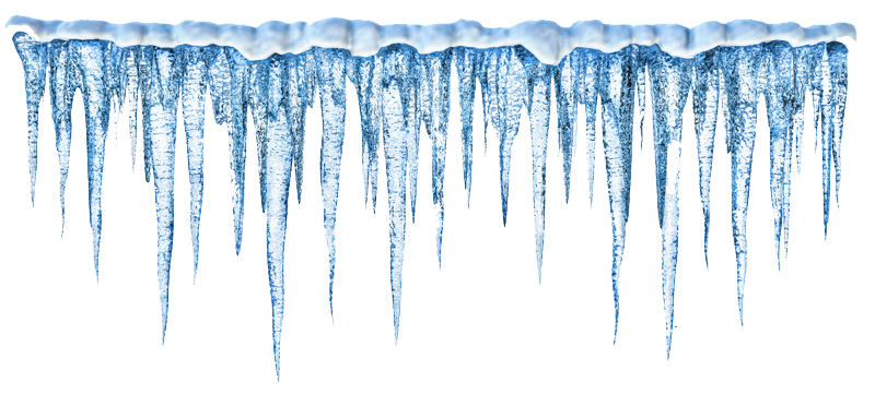 Blue Multi-thin Icicle Picture image #48601