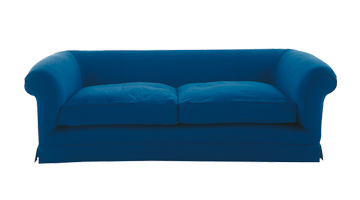 Blue Old Couch download old couch PNG images
