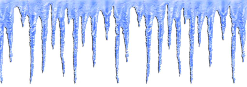 Blue painted multi part Images Icicle Image