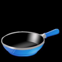 Blue Pan Icon