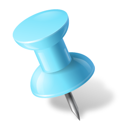 Pushpin Png on Diamond Transparent Icon