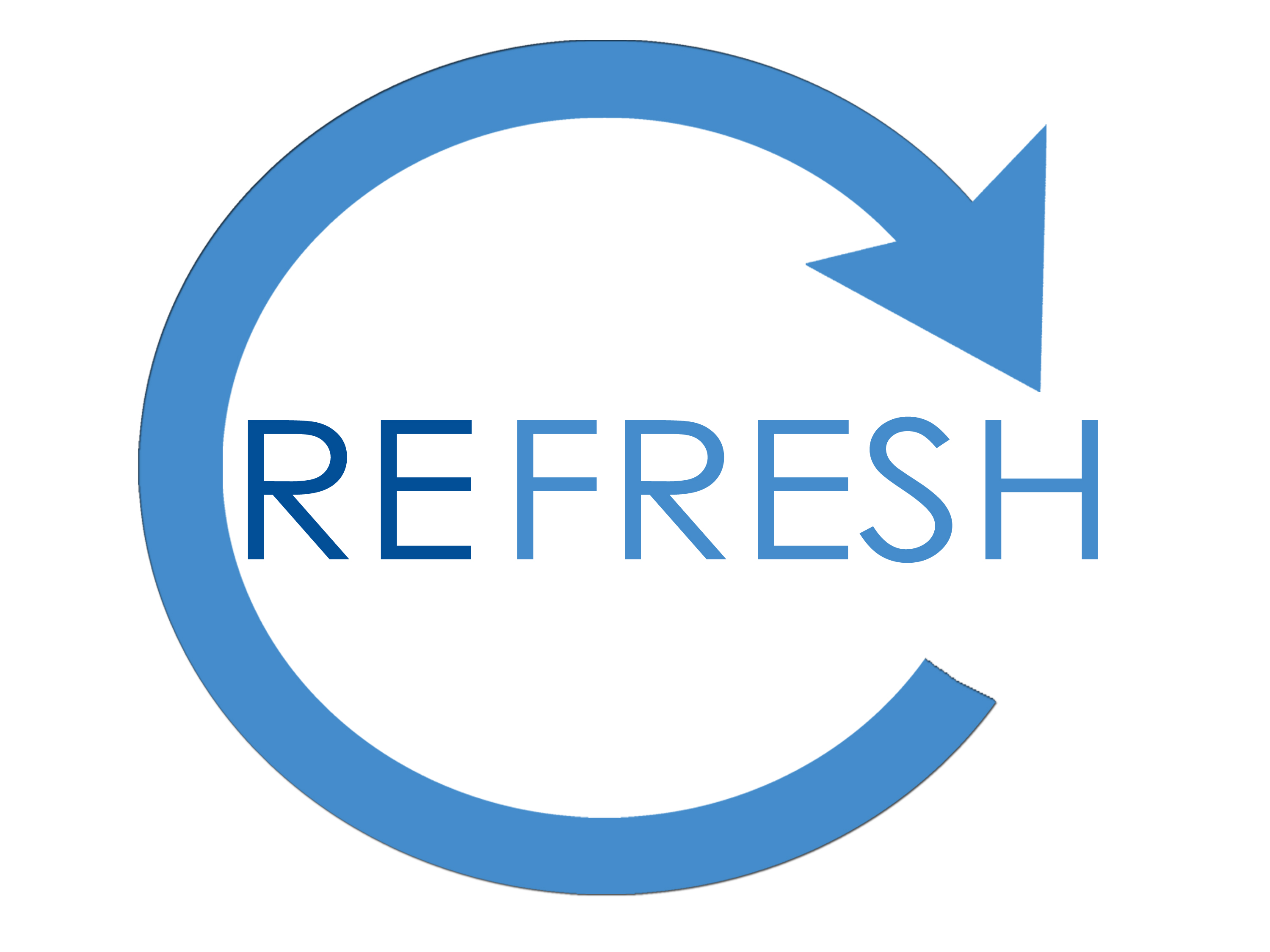 Blue Refresh Icon image #10841