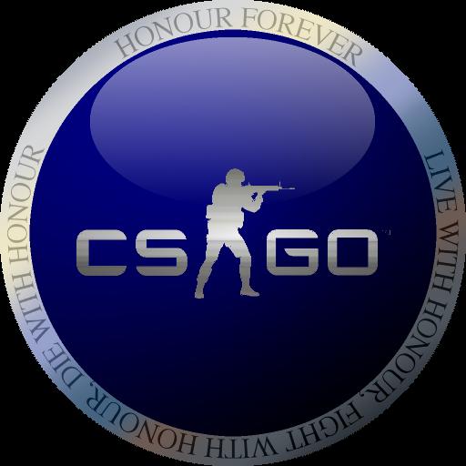 blue round csgo icon