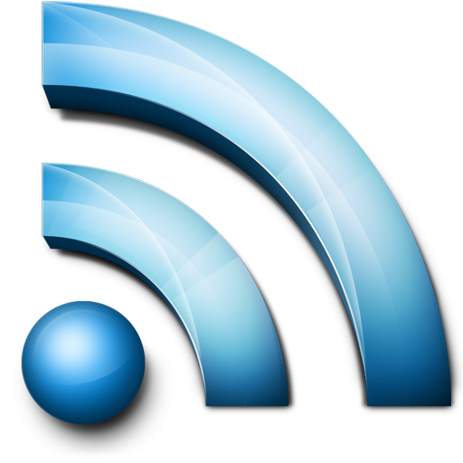 Blue RSS Feeds Logo Icon Png image #11294