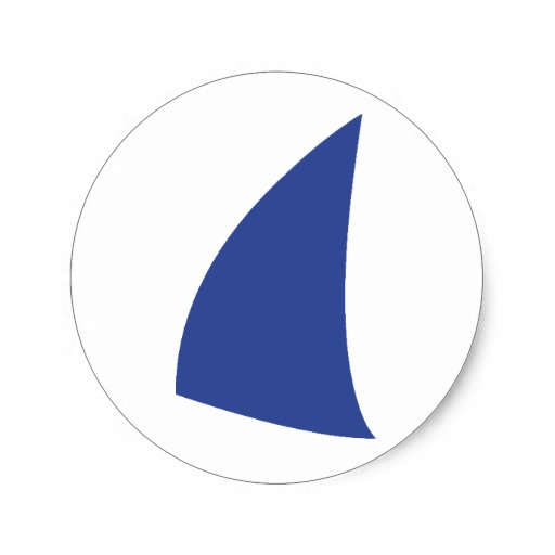 Blue Sail Icon 512x512, Sailing HD PNG Download