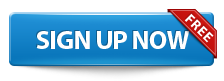 blue sign up free button png