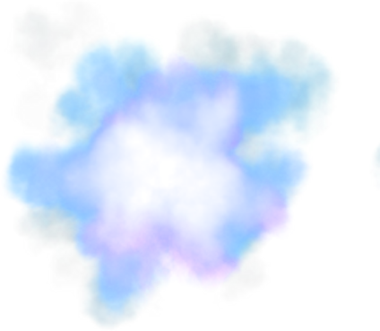 Blue Smoke Png Smoke 036. 424 x 369