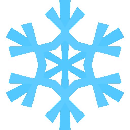 blue snowflakes clip art png