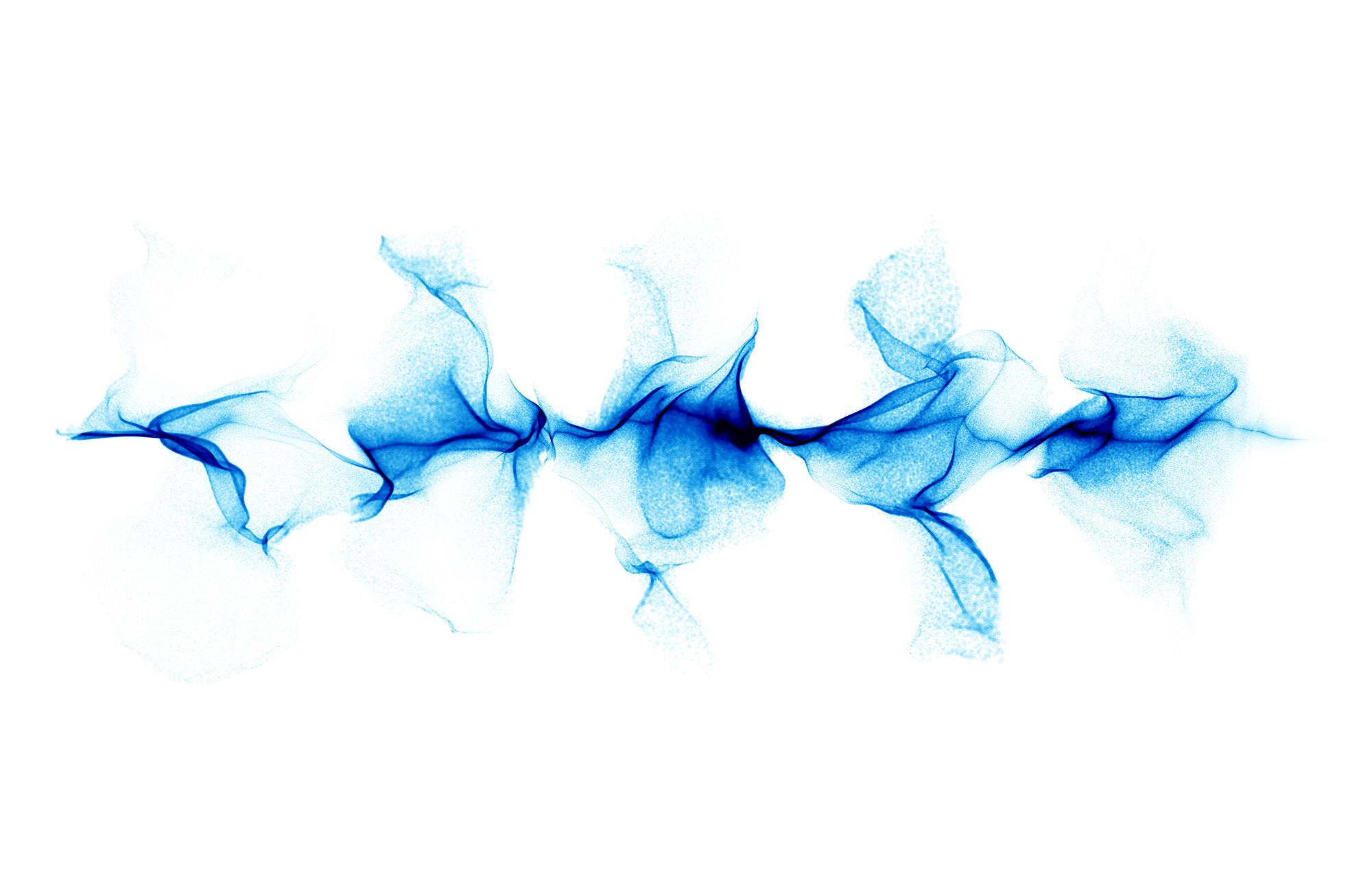 blue sound wave png
