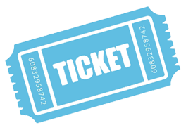 Blue Ticket PNG Pic