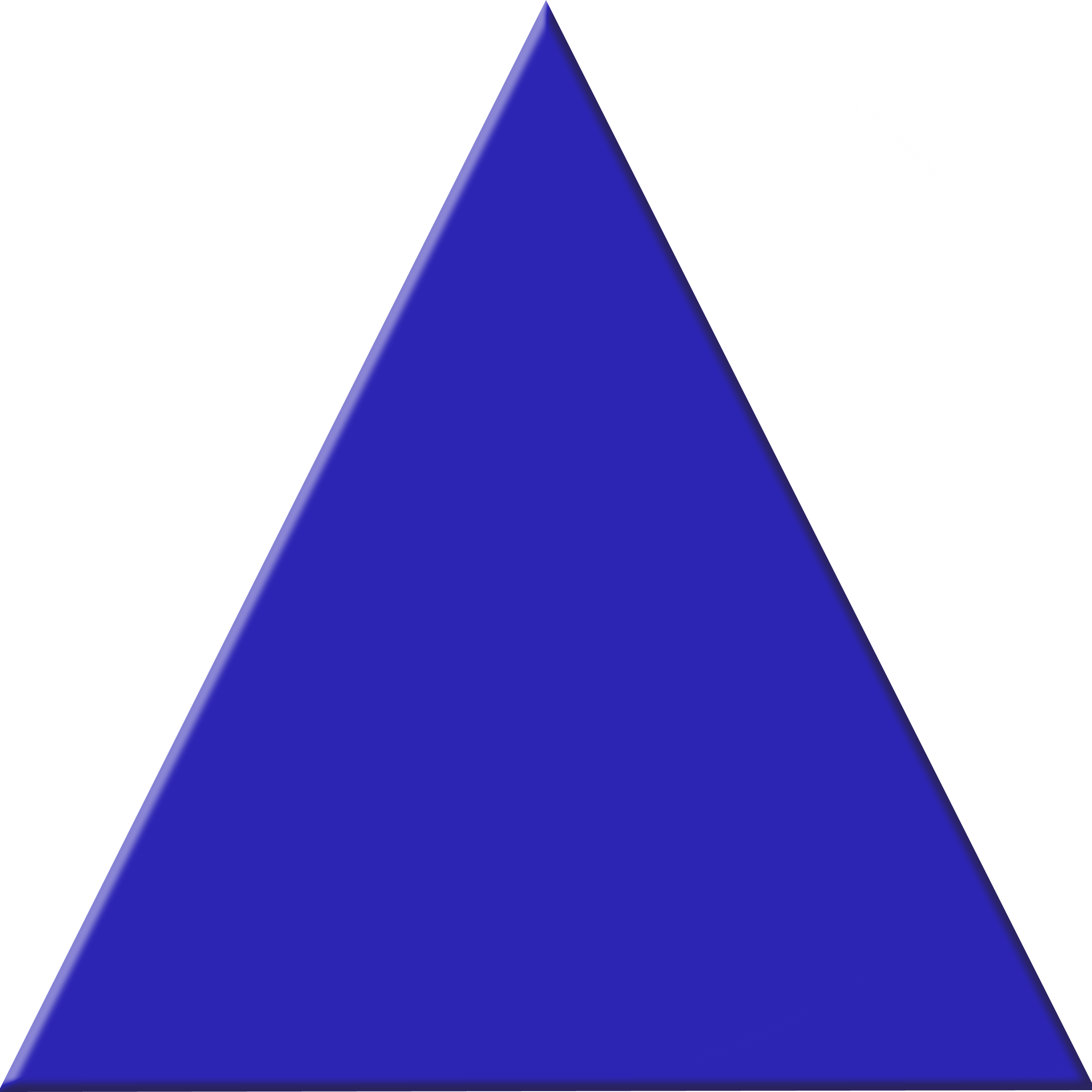 blue triangle  42397
