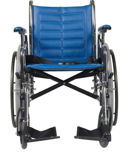 Blue Wheelchair Png image #40974