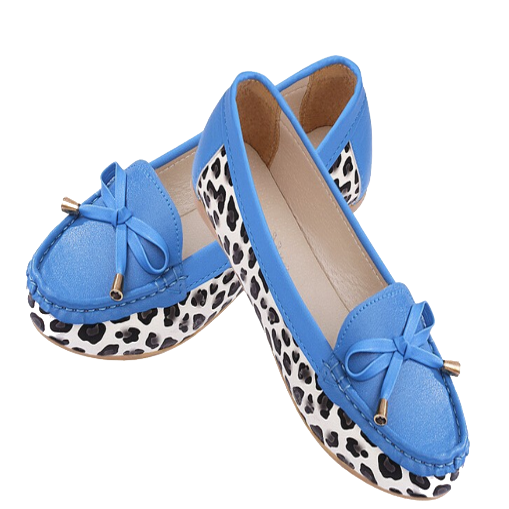 Blue Women Flat Shoes Png image #45081