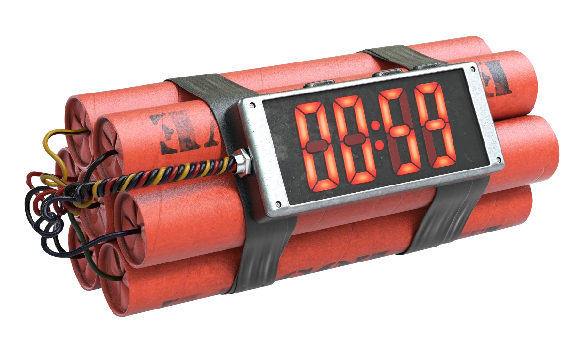 Bomb Clock PNG File image #46604