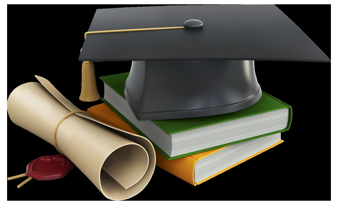 Gold Graduation Cap Png #34912