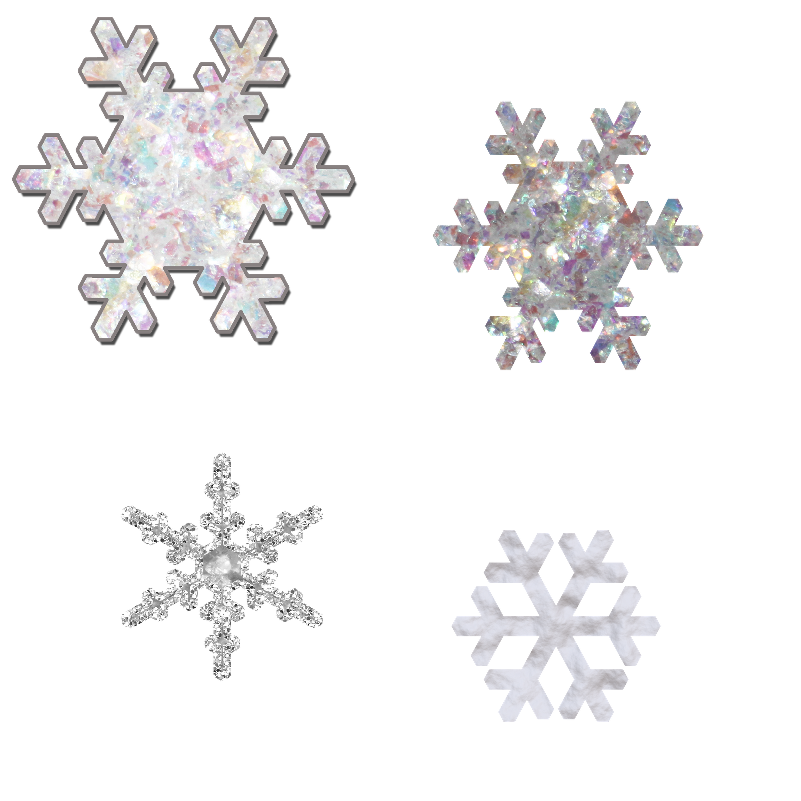 Snowflakes Transparent PNG Pictures - Free Icons and PNG ...