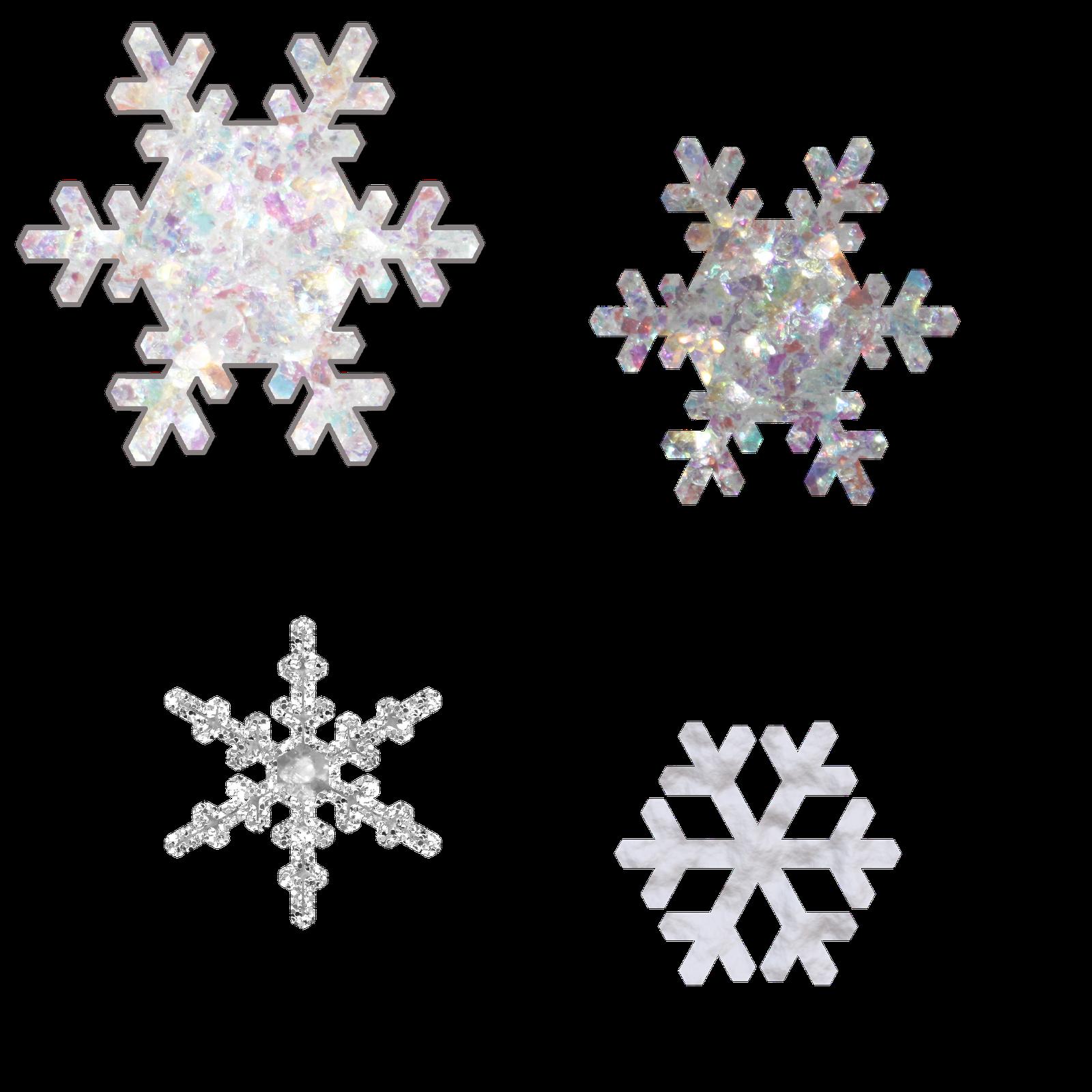 border snowflake png