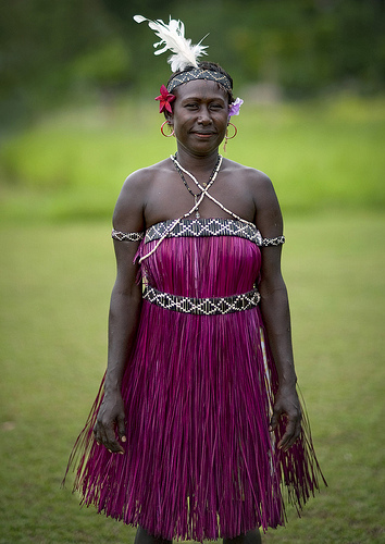 Bougainville Island Traditional Dress  Papua New Guinea image #44719