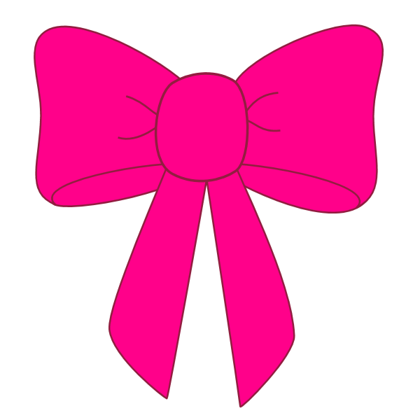 bow pink graphics png