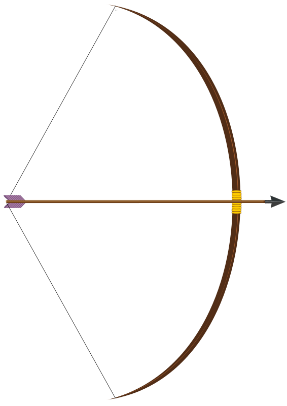 bow with arrow png