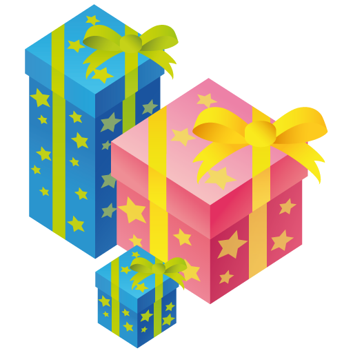 Box, Gift, Birthday Png image #39925